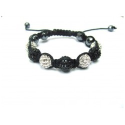 Turquoise Crystal Ball Shamballa Bracelets Adult