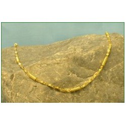 Small Diamond Design Gold Plated Necklace